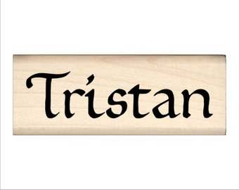 Tristan - Name Rubber Stamp for Kids