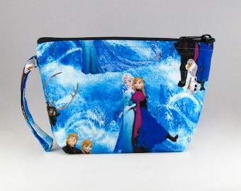 Frozen Makeup Bag - Disney Frozen - Accessory - Cosmetic Bag - Pouch - Toiletry Bag - Gift