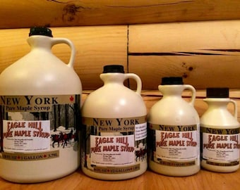 Maple Syrup in Jugs