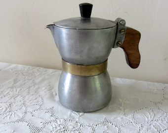 Rare Vintage Stovetop Expresso Coffee Maker