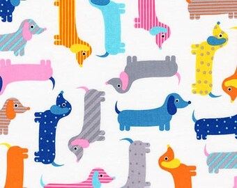 Multi Weenie Dogs from Robert Kaufman's Urban Zoologie Collection by Ann Kelle