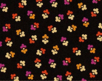 1 Yard CHICOPEE Duet Dot PWDS028 Red Black Denyse Schmidt Free Spirit Quilting Sewing Fabric