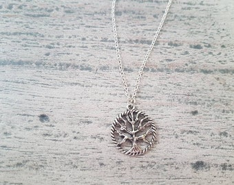 Tree of Life Necklace, Mom Necklace, Ready to Ship, Gift for Mom, Stocking Stuffer, Birthday Gift, Gift for Her