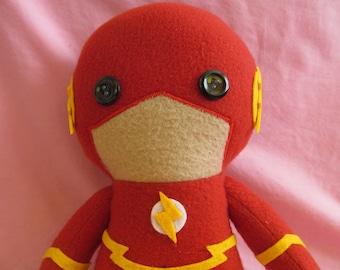 Flash DC Fleece Plush Doll