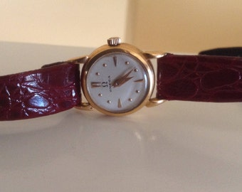 18Kt Gold Omega Ladies Watch