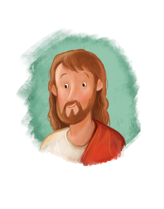 Jesucristo pintura para el arte cristiano del habitación