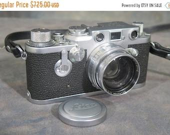 BTS Leica 111F 1951with Summitar 50mm  F2 lens