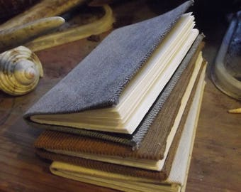 Pocket books hand bound A7