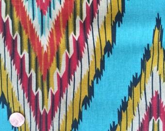 Color Daze Linen - Turquoise Cotton/Linen CANVAS - Moda - 1864.21250 Per Half Yard