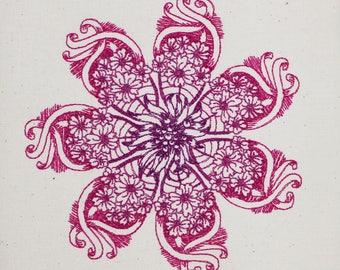 Flower 18 zendoodle 5x7