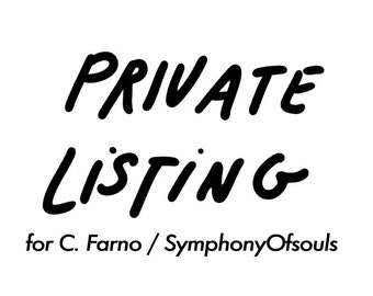 PRIVATE LISTING for C.Farno/SymphonyOfSouls <---> 10 Pendulum Divination Kits