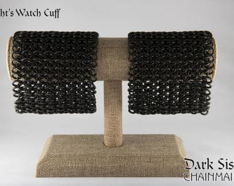 Night's Watch Chainmaille Cuff