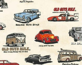 Kaufman - Old Guys Rule - Cars - Ivory