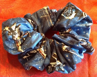 Star Wars T.I.E. Fighter Hair Scrunchy Perfect for Low Ponytails! Free US Shipping!!