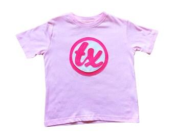 Wir lieben Texas! -Leichte rosa Kids T-Shirt