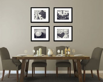 Shell Photography Set Of Three 3 Beach Decor Black