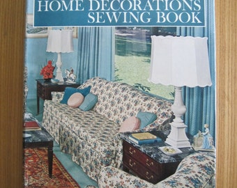 SINGER, Home Decorations Sewing Book, 1961, Vintage, Mid Century