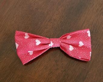 Heart Clip-On Bow Tie