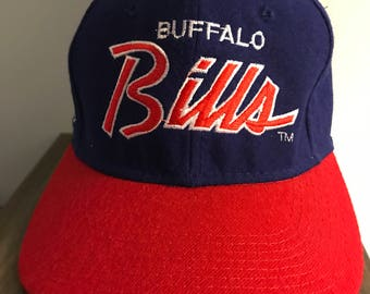 Vintage NFL Buffalo Bills Fitted Wool Hat