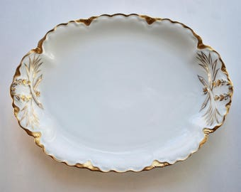 "Racine Oval Serving Platter by Hutschenreuther, ""The Blenheim"""