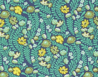 Eden - Wildflower in Sapphire by Tula Pink for Freespirit Fabrics