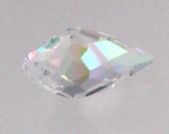 20 pcs of Crystal AB Color Crystal Quartz Faceted Briolette Teardrop - 6x11mm