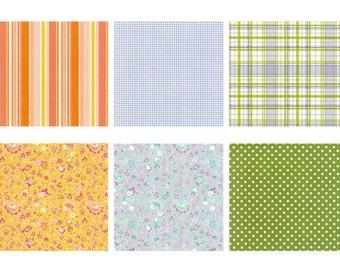 Pattern Stickers II - 6 Sheets