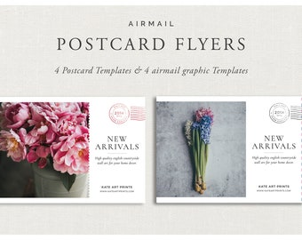 Airmail Postcard Flyers