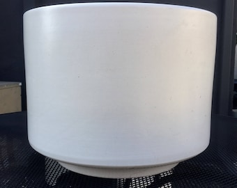 Vintage Gainey Ceramics C-16 Matte White Planter