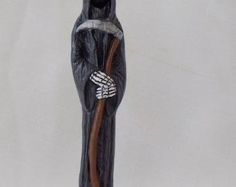 Ceramic Halloween Grim Reaper Figurine, Ceramic Grim Reaper, Grim Reaper Figurine, Death, Harbinger of Death