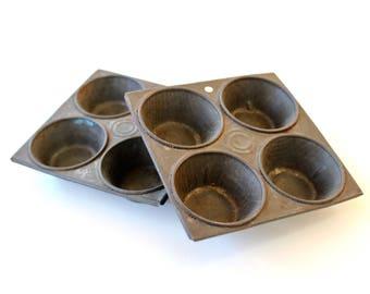 Vintage Child's Muffin Baking Tins