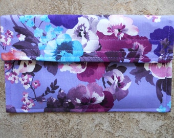 Two Daughters Floral Coupon Holder/Organizer/Wallet
