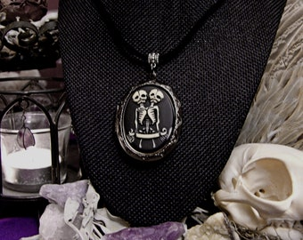 CONJOINED TWINS | Cameo Locket Necklace | Solid Perfume | Choose Your Own Fragrance | Natural Perfumery