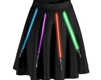 Star Wars Skirt //  Light Saber Skirt // Disney Skirt // Disneyland // Walt Disney World // Women's Disney Skirt // Women's Star Wars