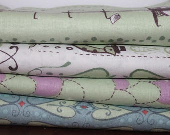 Feather & Stitch by Sarah Watts for Blend Fabrics