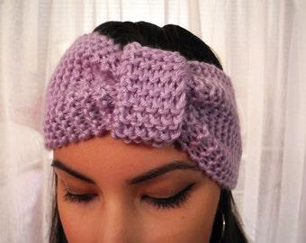 Handmade Knit Headband Ear Warmer