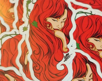 DC -- Poison Ivy -- Stickers
