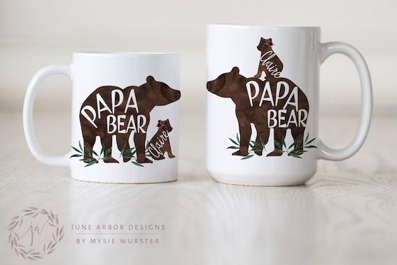 Papa Bear with Cub