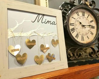 Mother, Grandmother Gift, Personalized mother gift, custom grandma gift, grandma gift, mother gift, Gift for mom, Gift for grandmother,