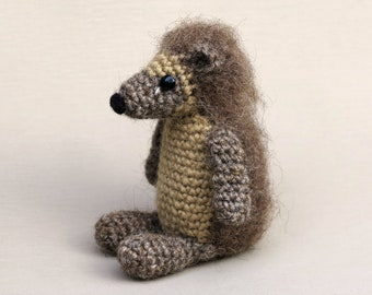 Crochet amigurumi hedgehog pattern