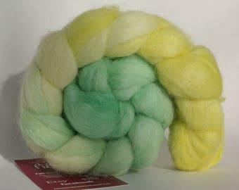 Baby alpaca yarn by spinning or felting - 98g