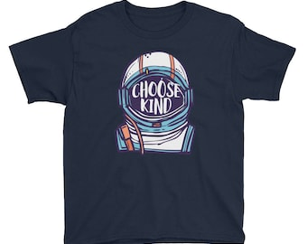 Choose to be Kind Youth Short Sleeve T-Shirt http://amzn.to/2zV91FA