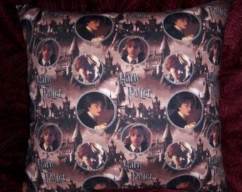 "17"" Harry Potter - Hermione - Ron Weasley Pillow"
