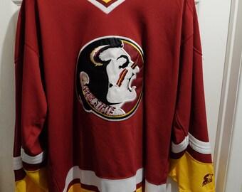 Vintage 90s STARTER Florida State Seminoles Hockey Jersey