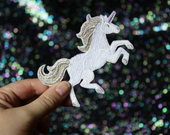 Unicorn Brooch, Fantasy Pin, Badge