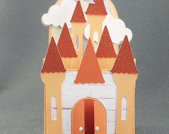 Handmade Princess Castle Orange