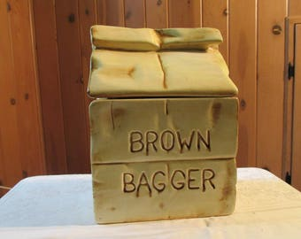 Brown Bagger Cookie Jar