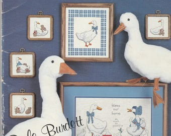 The Goose Gathering - Dale Burdett-  Cross Stitch Pattern Booklet -15 Patterns