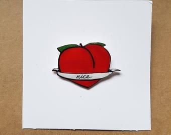 Peach pin