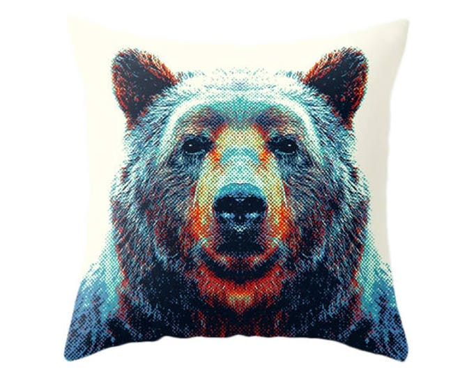 Bear Pillow - Colorful Animals